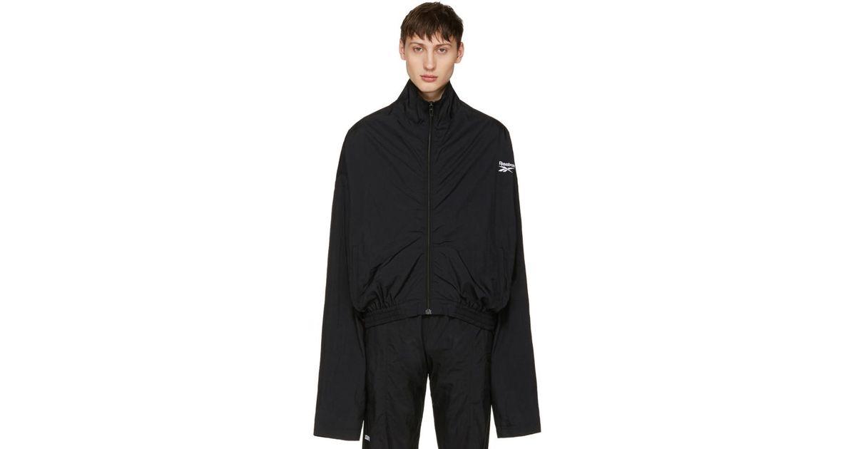 vetements reebok track jacket