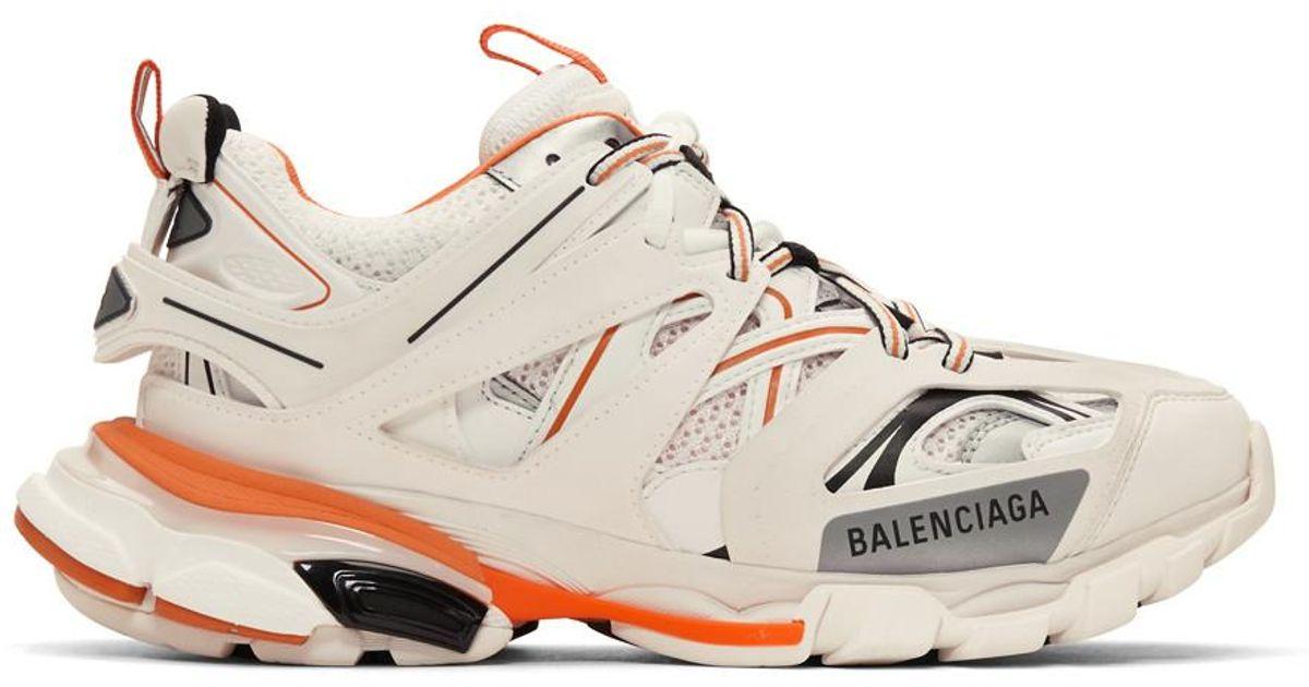 Balenciaga Off-white And Orange Track