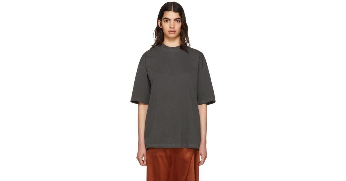 T Balenciaga Shirt Coloris En Noir Femme Fatale Black IEH29DWYe