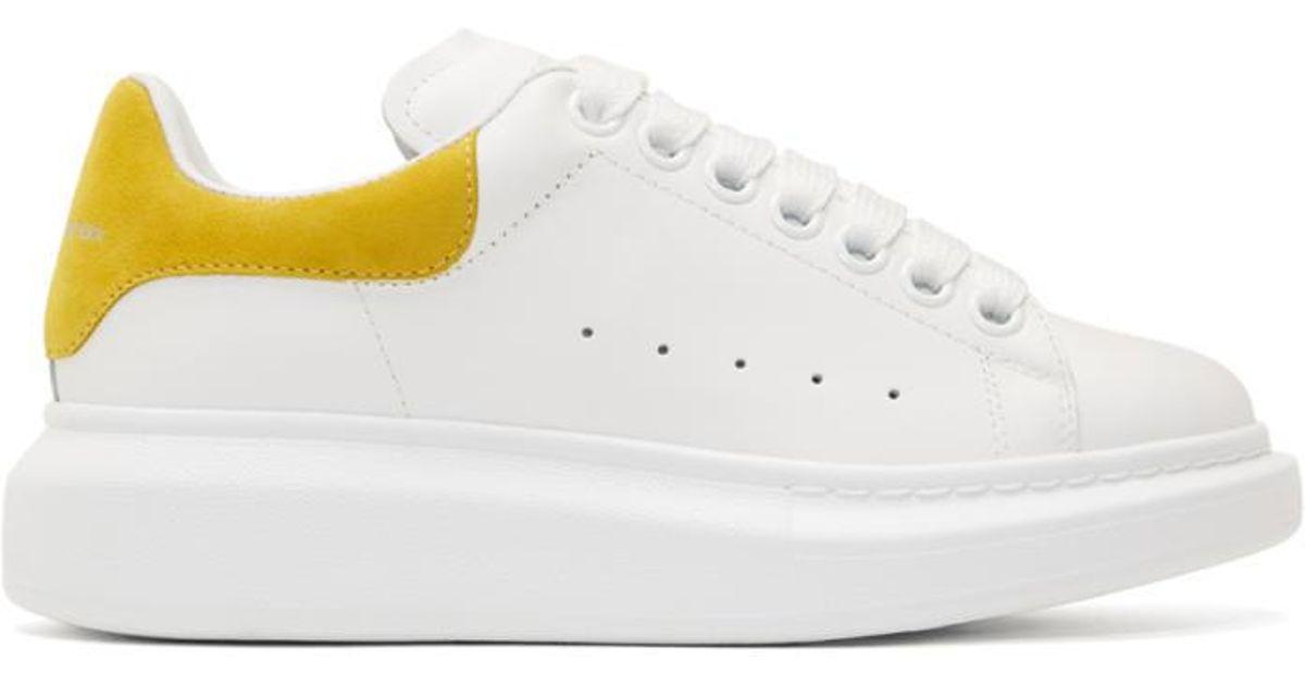 Alexander McQueen Leather White