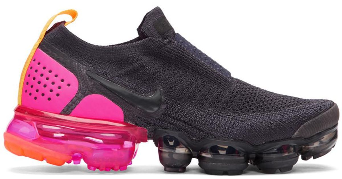 new concept 6bea6 34095 Nike Navy Air Vapormax Flyknit Moc 2 Sneakers in Blue - Save 11% - Lyst