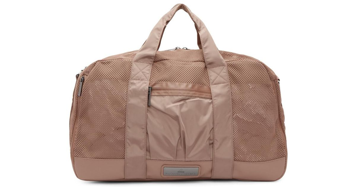 6943a7909fdc ... Lyst - Adidas By Stella Mccartney Pink Yoga Duffle Bag in Pi low priced  9b91c 1b241 ...
