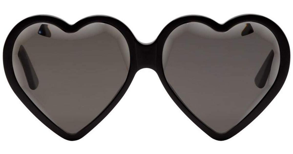 32d63d1c0b Gucci Black Heart Sunglasses