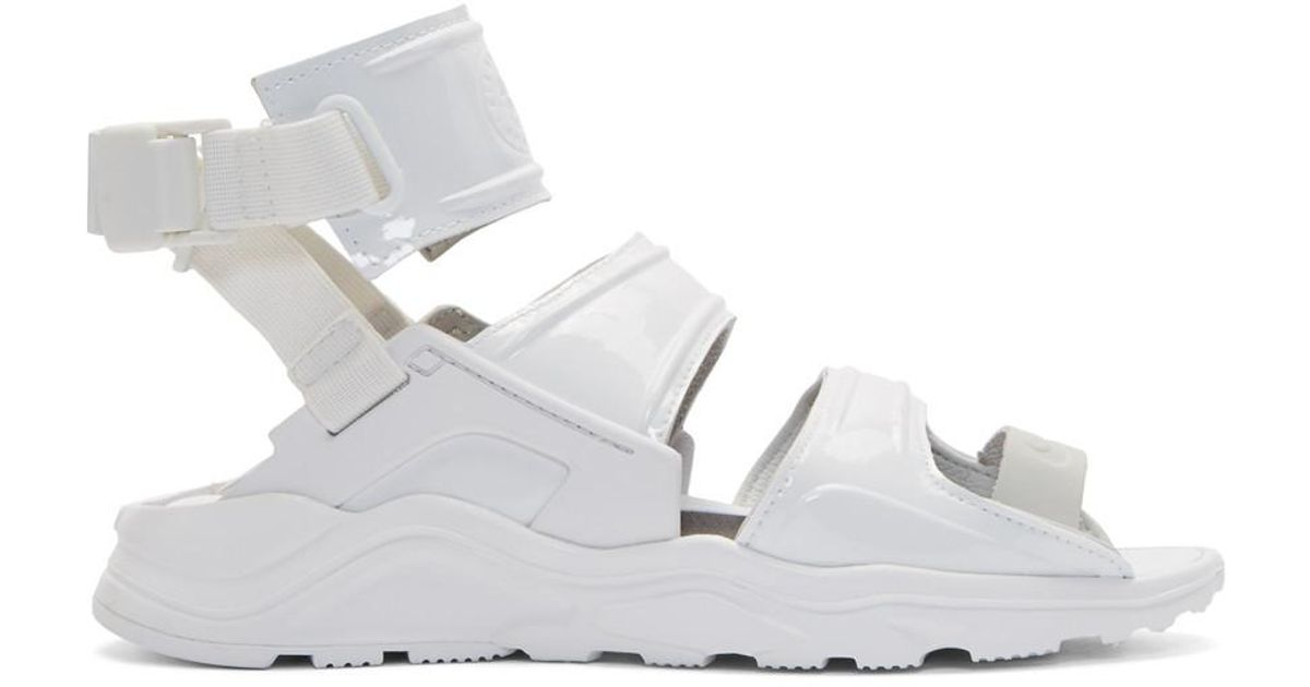 White Air Huarache Gladiator Sandals