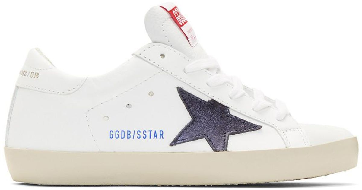 Golden Goose Deluxe Brand Leather White