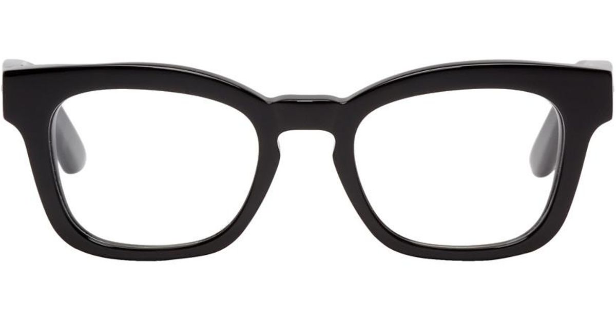 73810866d79 Lyst - Balenciaga Black Thick Frame Glasses in Black for Men