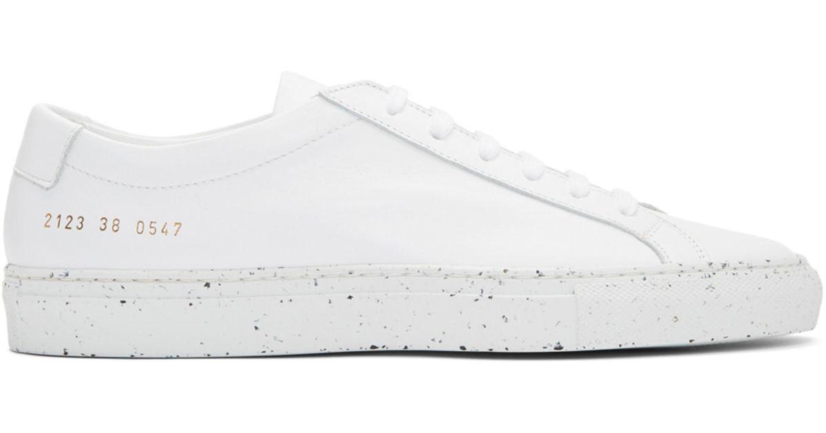 Achilles Low Confetti Sole Sneakers