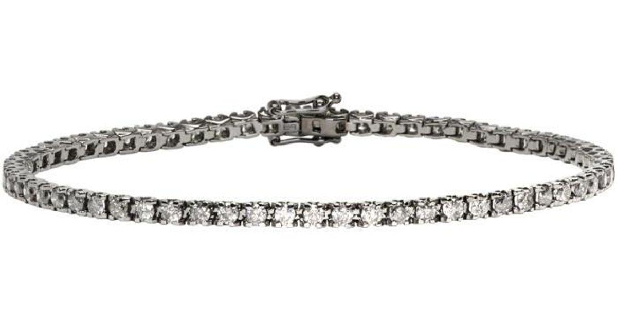 Eva Fehren Womens Diamond Tennis Bracelet Q1d6YN