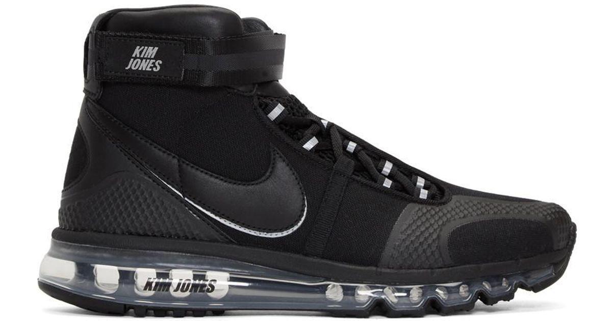 taille 40 032bf f0916 Baskets montantes noires Air Max 360 edition Kim Jones Nike pour homme en  coloris Black