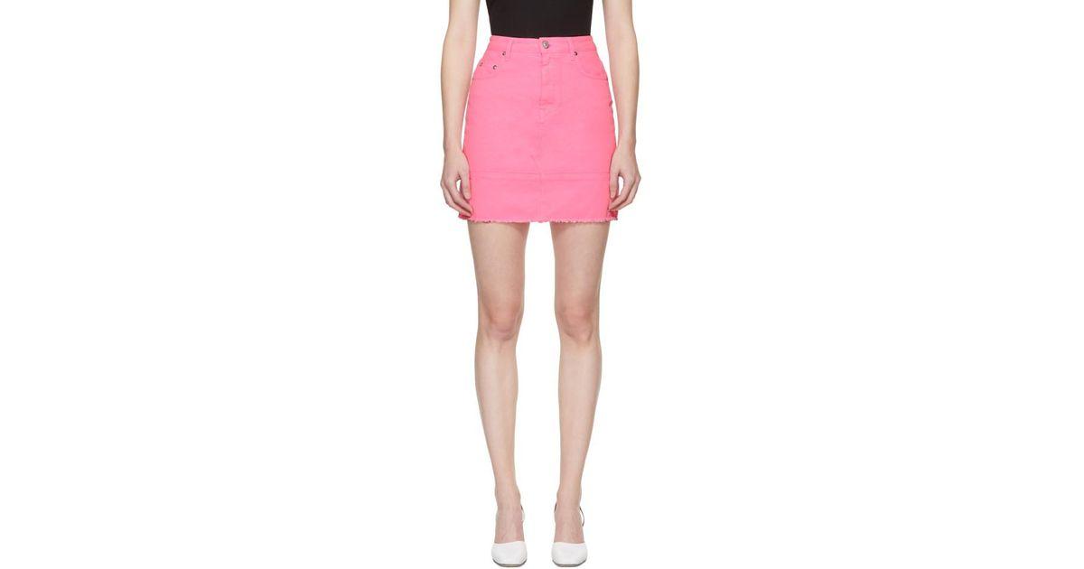 ruffle denim miniskirt - Blue Msgm Manchester Great Sale Online 4N4wY6zHP