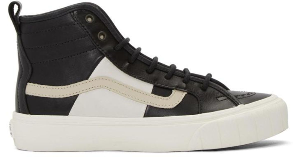 Vans Navy Taka Hayashi Edition TH Court HI LX Sneakers MfUlRhoHXT