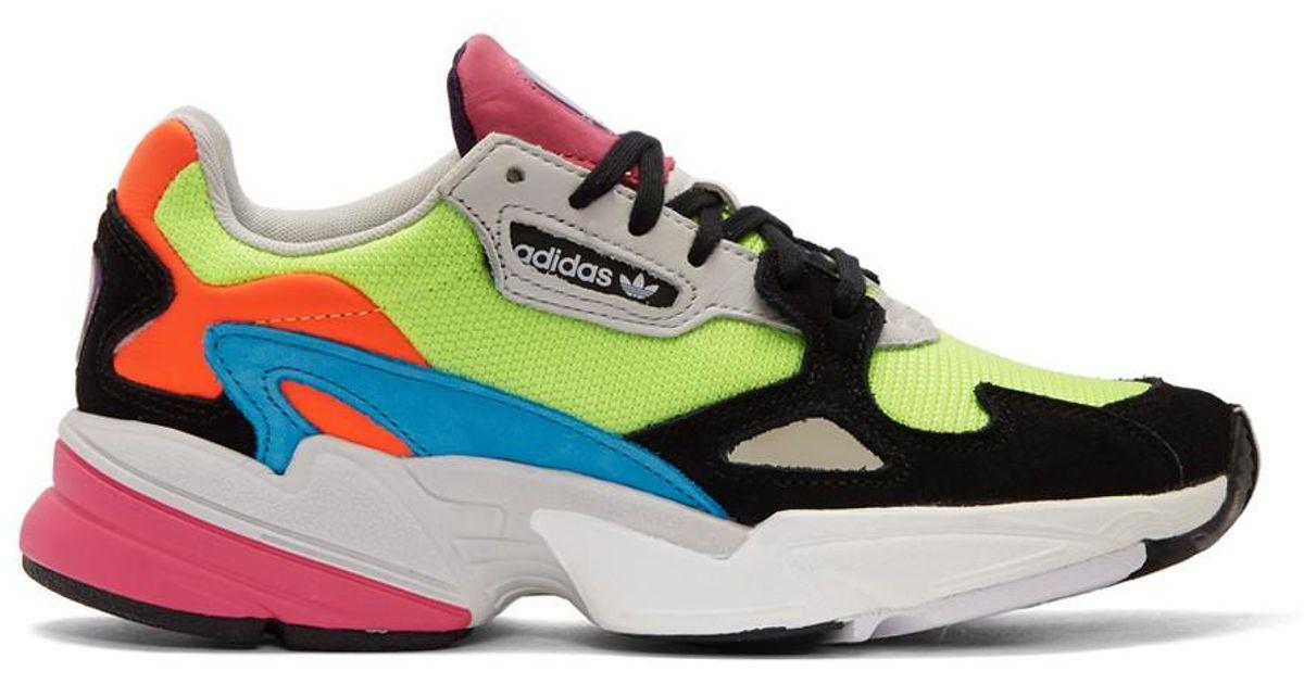 Adidas Originals Multicolor Falcon 90s Low Top Sneaker