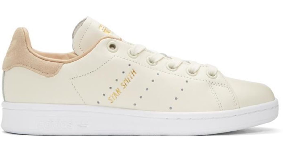 lowest price a19f1 1fcc9 Adidas Originals Off-white Stan Smith Premium Sneakers