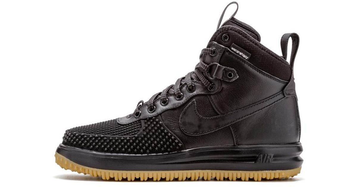 sale retailer dc219 324a4 Nike Lunar Force 1 Duckboot in Black for Men - Lyst