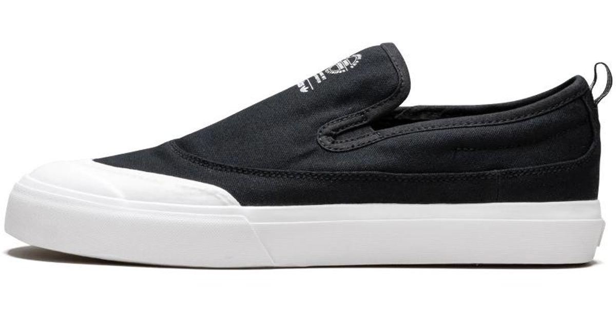 96ab8e6cb232a Adidas Black Matchcourt Slip for men
