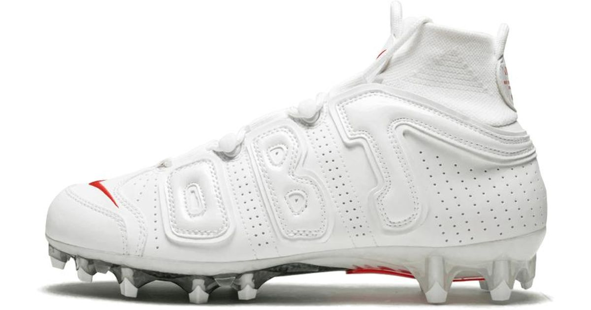 822a71f1765 Nike Vpr Ut Pro 3 Obj Uptempo in White for Men - Lyst