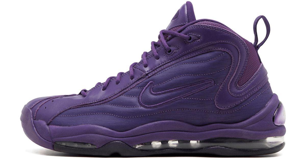 super cute genuine shoes presenting Nike Purple Air Total Max Uptempo for men