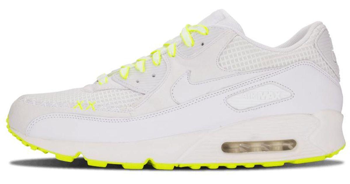 newest 04197 d6e76 Nike White Air Max 90 Premium 'kaws' - Size 11 for men