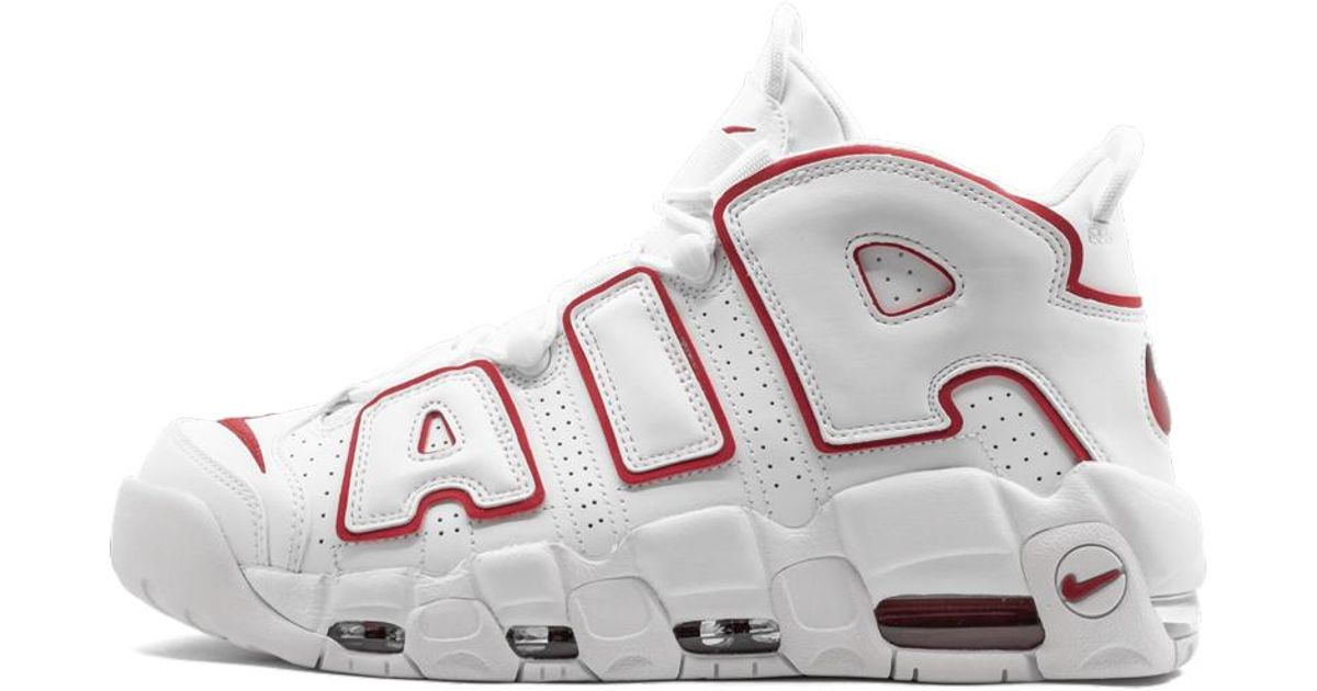 Nike Leather Air More Uptempo 96 Shoes