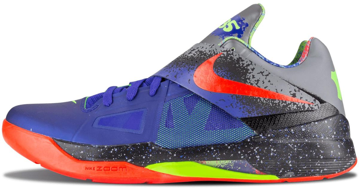 sale retailer e9b77 fa2f3 ... cheapest lyst nike zoom kd 4 nerf for men ae0fc 406db