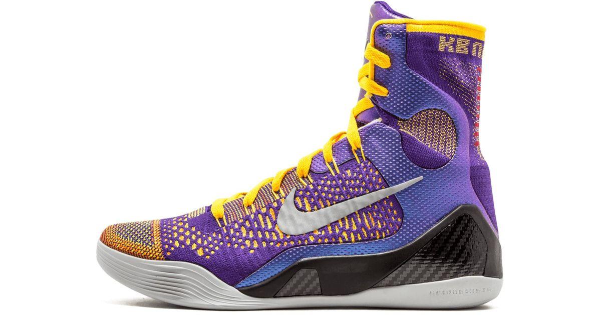 Nike Kobe 9 Elite in Black,Purple