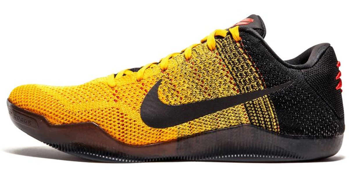 more photos a88c2 71094 Nike Yellow Kobe 11 Elite Low 'bruce Lee' - Size 11 for men