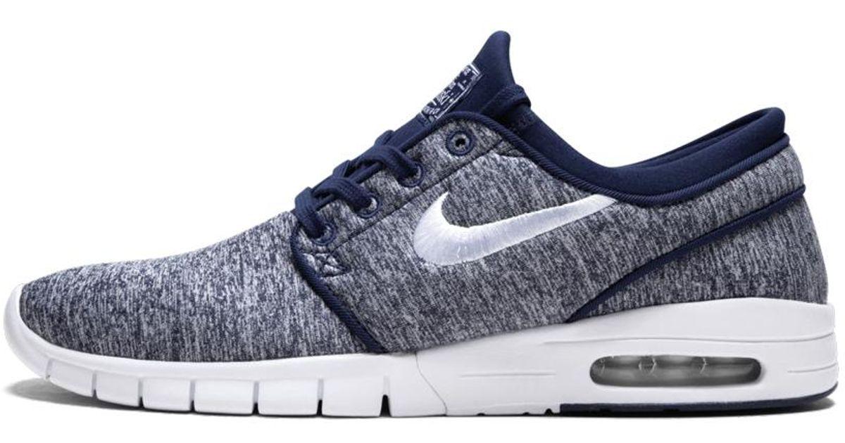 Nike Stefan Janoski Max in Blue/White