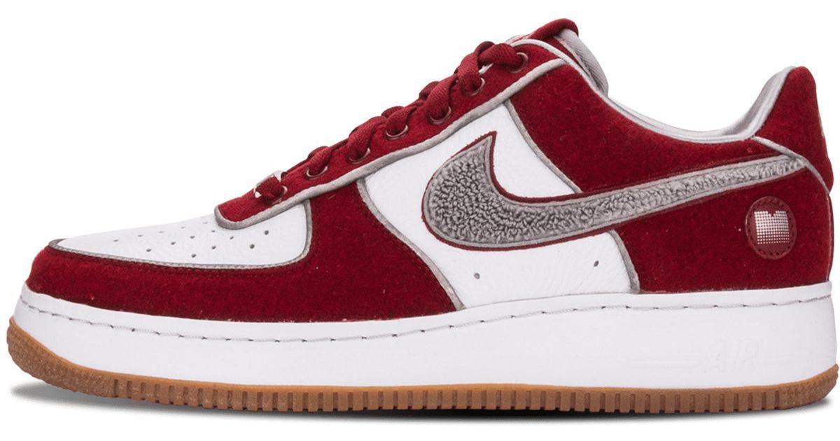 online retailer 5efde 59e58 Nike Red Air Force 1 Low Supreme I/o