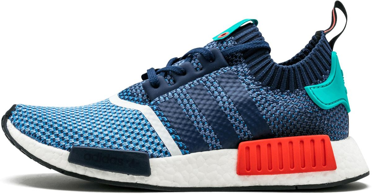 superior quality dfadf db1a1 Adidas Blue Nmd R1 Pk Packers 'packer Shoes' - Size 5 for men
