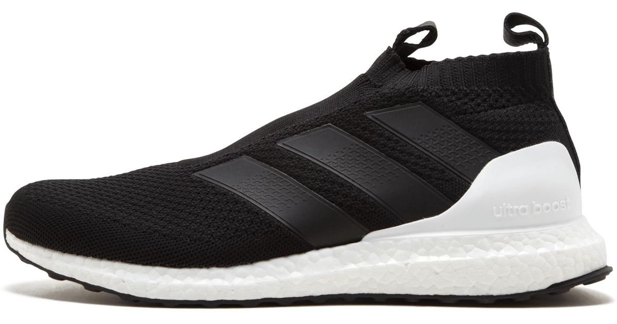 d7df57d0 adidas Ace 16+ Ultraboost in Black for Men - Save 15% - Lyst