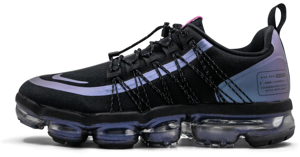online retailer stable quality exquisite design Nike Black Air Vapormax Run Utility 'throwback Future' Shoes - Size 10 for  men