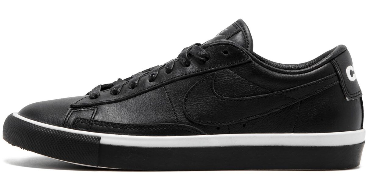 new product 0014e a58da Nike Black Blazer Low / Cdg for men