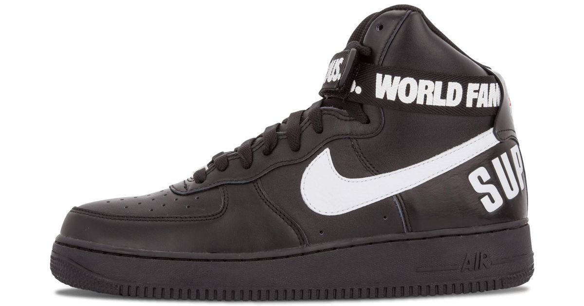 pretty nice 54693 4f7c2 ... Lyst - Nike Air Force 1 High Supreme Sp in Black for Men ...