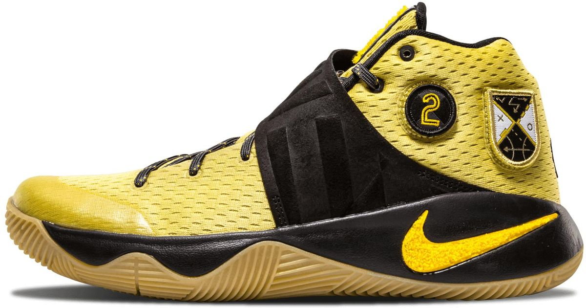 new style cd9c7 fecf9 Nike Yellow Kyrie 2 'all Star - Northern Lights'
