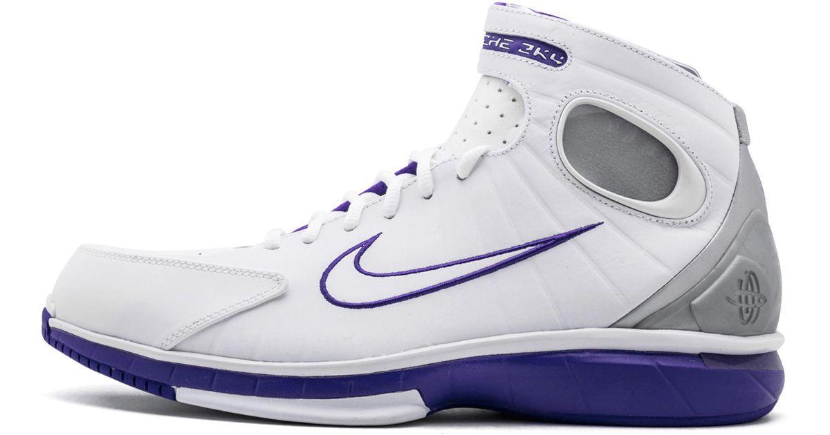 premium selection 9f38a 6a5c0 Nike White Air Zoom Huarache 2k4 for men
