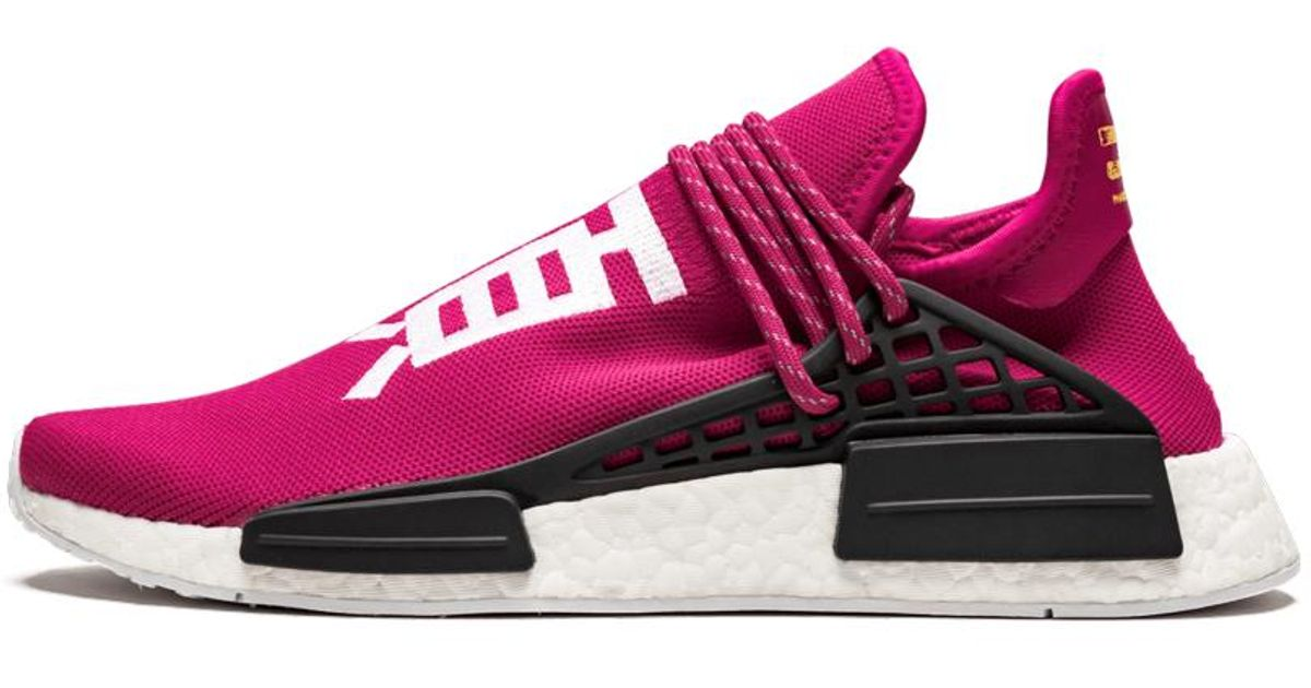 shock pink human race The Adidas Sports