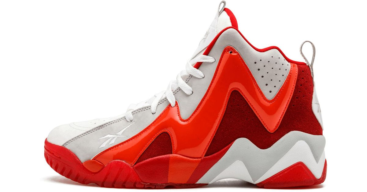 Reebok Kamikaze 2 Mid in Red,White (Red