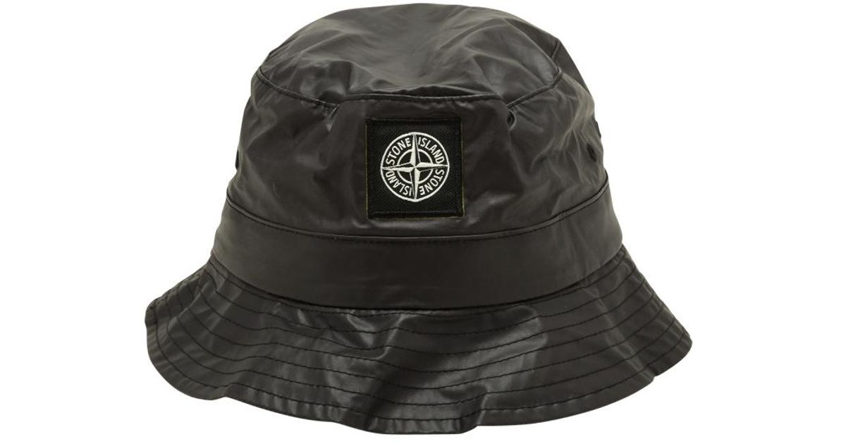 d5153fa75 Supreme Black Stone Island Crusher Hat for men