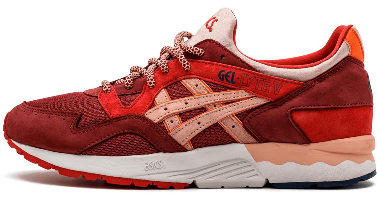 size 40 be4c1 8911b Asics Red Gel Lyte 5 'volcano' Shoes - Size 9.5 for men