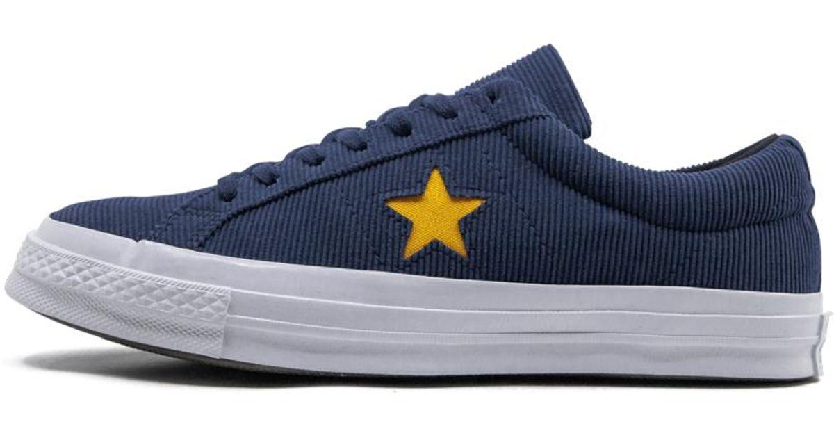 converse blu navy fresh yellow