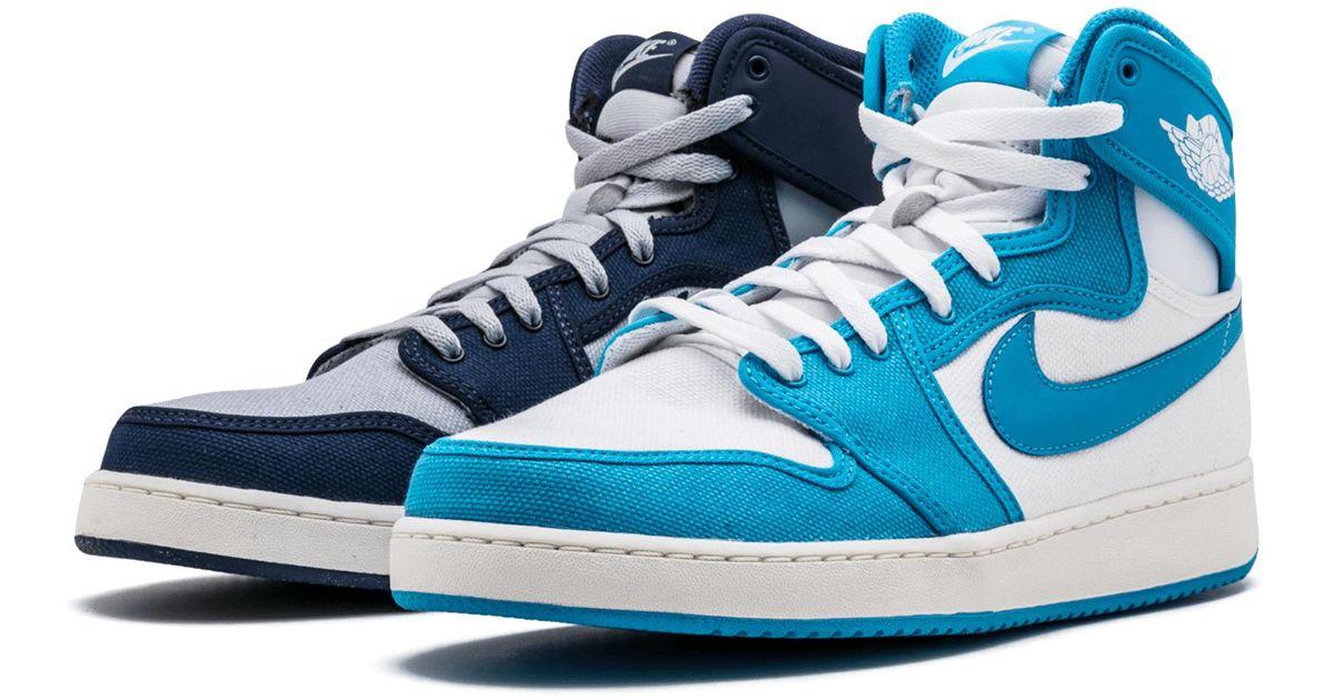 top fashion dd241 0979e Nike Blue Aj1 Ko High Og Rival Pack for men