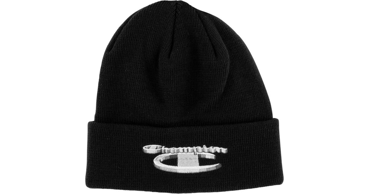 Lyst - Supreme Champion Beanie in Blue for Men 45680cacd9f
