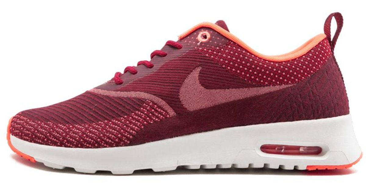 Nike Red Womens Air Max Thea Jcrd Shoes Size 8w