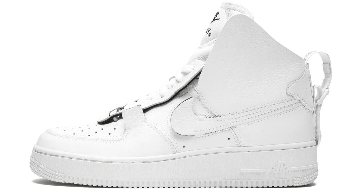 ed30423c9929de Lyst - Nike Air Force 1 High Psny in White - Save 61%