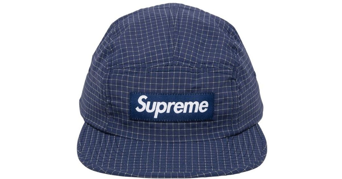 d83ac04c Supreme Reflective Ripstop Camp Cap 'fw 18' in Blue for Men - Save 14% -  Lyst