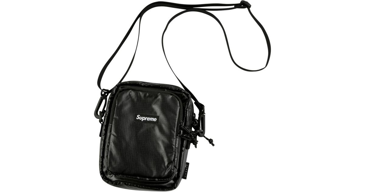 Supreme Cordura Black Travel Shoulder Bag Camping SS17