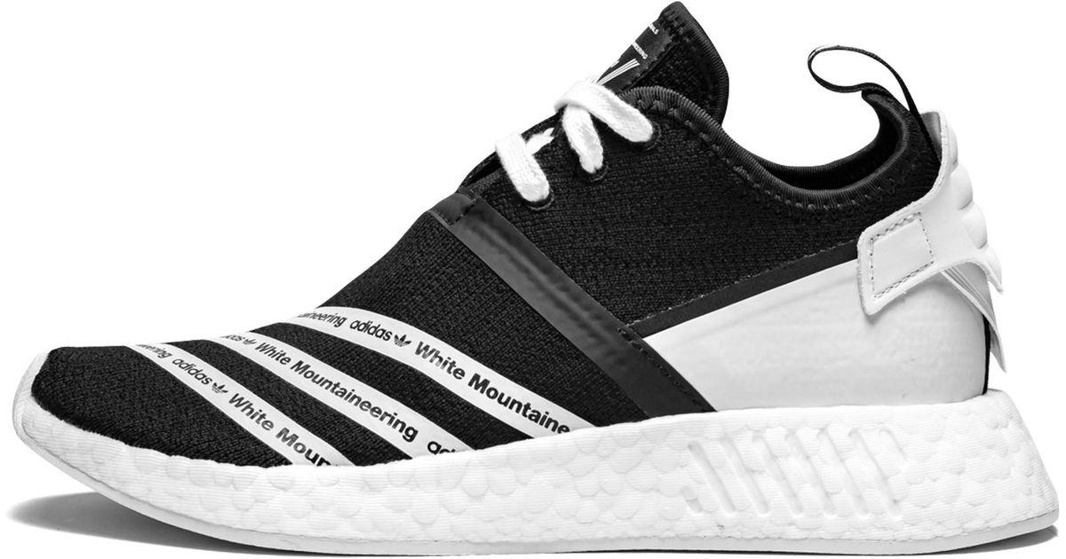 promo code 0613c 2c343 Adidas - Black Wm Nmd R2 Pk for Men - Lyst