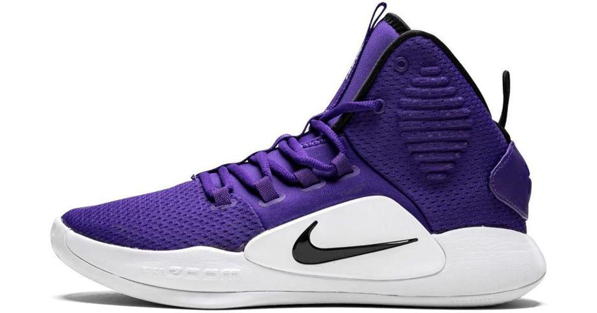 Nike Hyperdunk X Tb in Purple for Men