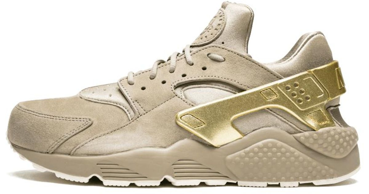 Nike Natural Air Huarache Run Prm 'gold Rush' Shoes for men