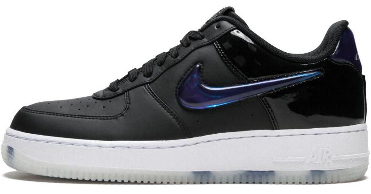 wholesale dealer 984d6 203e5 Nike Black Air Force 1 Playstation '18 Qs